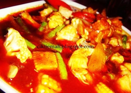 Resepi masakan Ayam Paprik