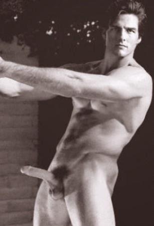Famosos pelados de pau duro - Tom Cruise
