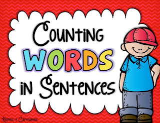 Counting Words in Sentences, STAR Test skill, Counting Words