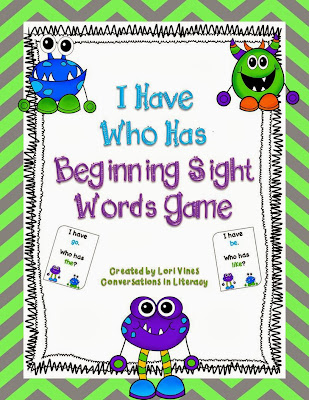 Beginning Sight Words freebie