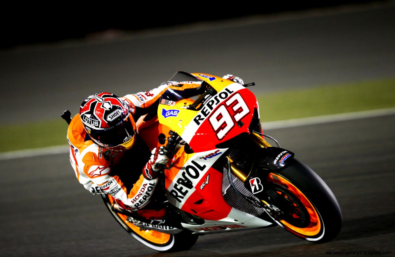 Marc Marquez 2013 Night Wallpaper 6996 Wallpaper