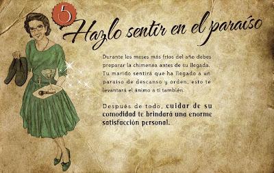 """""""Guía de la buena esposa - 11 reglas para mantener a tu marido feliz"""" - supuestamente publicado en 1953 por la Sección Femenina de Falange Española de las JONS Image6"""