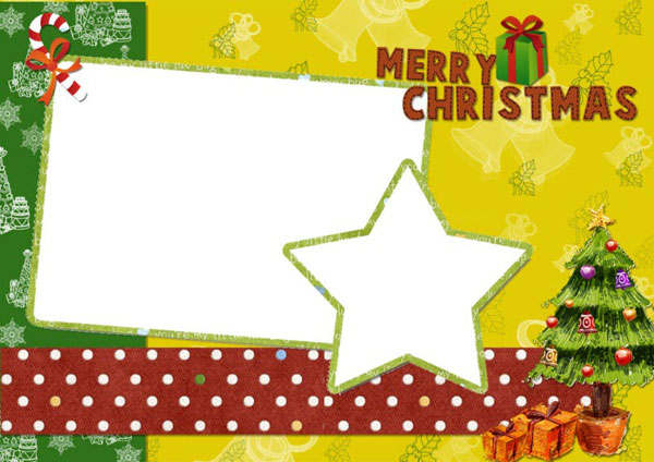Christmas Card Template Photos with Beautiful Designs for FREE – Free Xmas Card Template