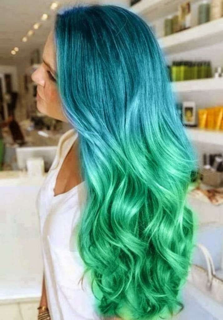 light coloured hair