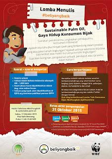 Info-kuis-lagi-Info-Kontes-Menulis-#BeliYangBaik:-Sustainable-Palm-Oil,-Gaya-Hidup-Konsumen-Bijak