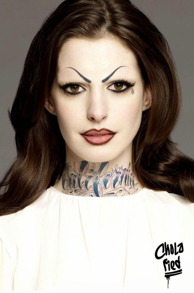Chola Anne Hathaway aka La Gata
