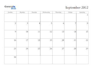 free-printable calendar september 2012