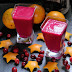 Orange & Beet Smoothie with Cranberries and Maple Syrup