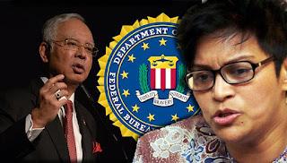 Azalina sahkan Najib belum dipanggil FBI
