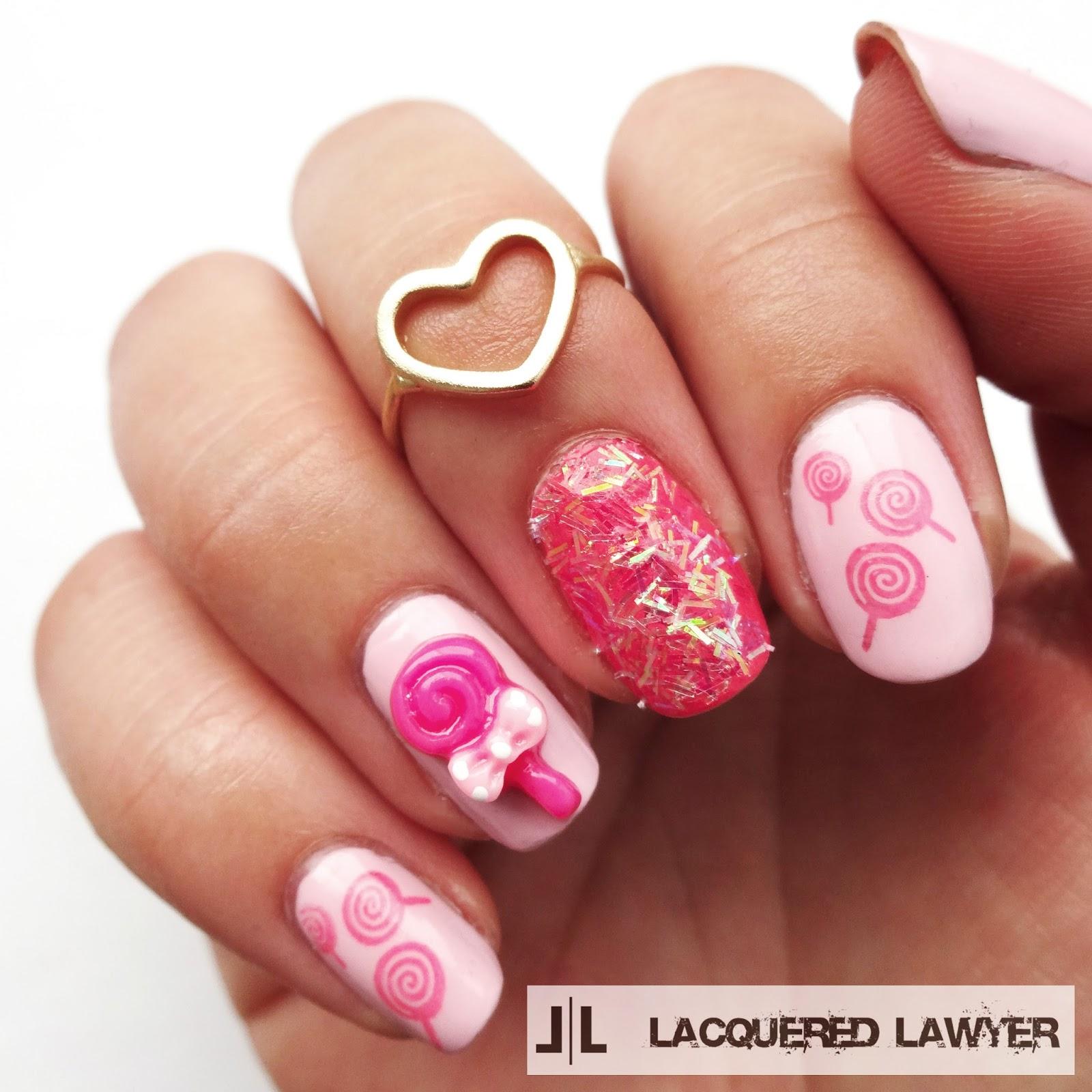 Lollipop Nails