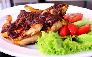 Resep Membuat Ayam Panggang/ Bakar Bumbu Rujak