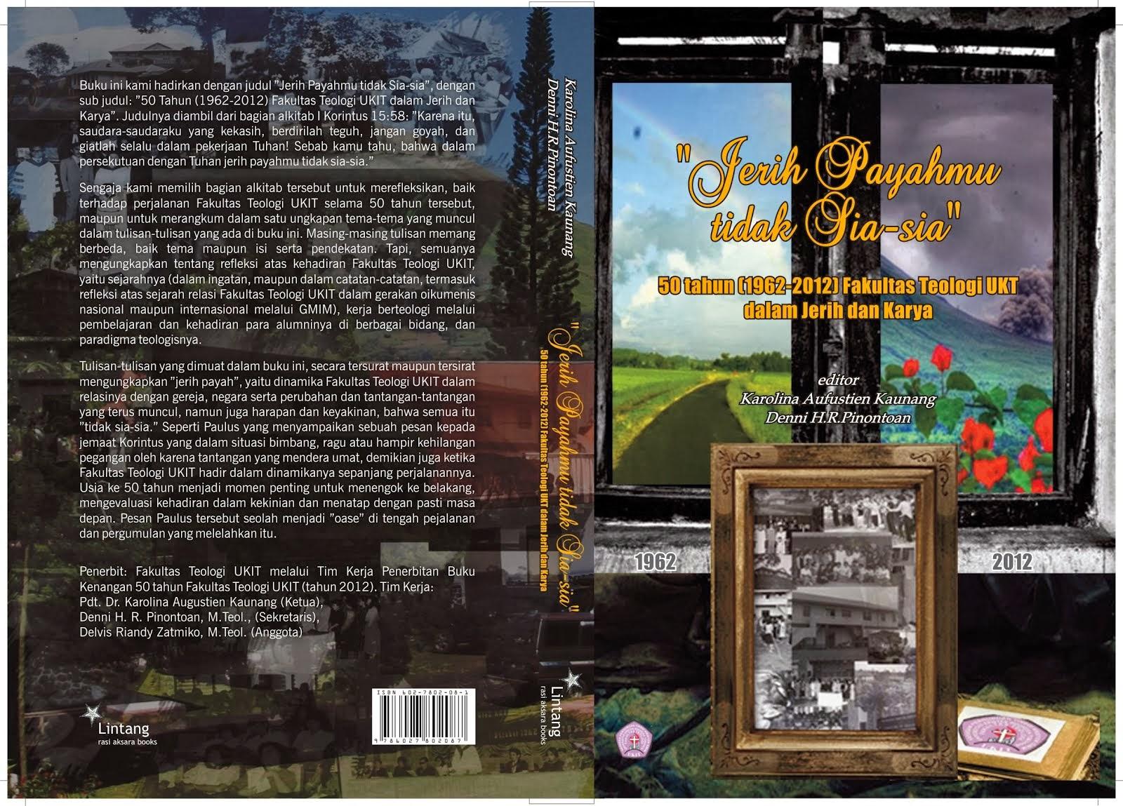 Buku Terbitan Fakultas Teologi