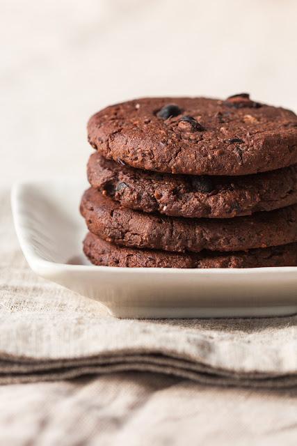 Čokoladni keksi od graha