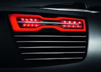 Audi E-tron Spyder LED taillamps Wallpaper