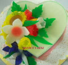 PUDDING AND JELLY FLOWER