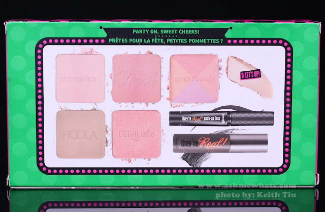 What's included on Benefit Real Cheeky Party Kit