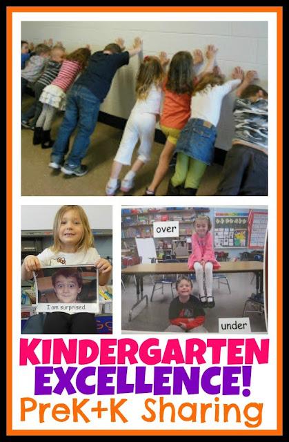 Kindergarten EXCELLENCE at PreK+K Sharing!