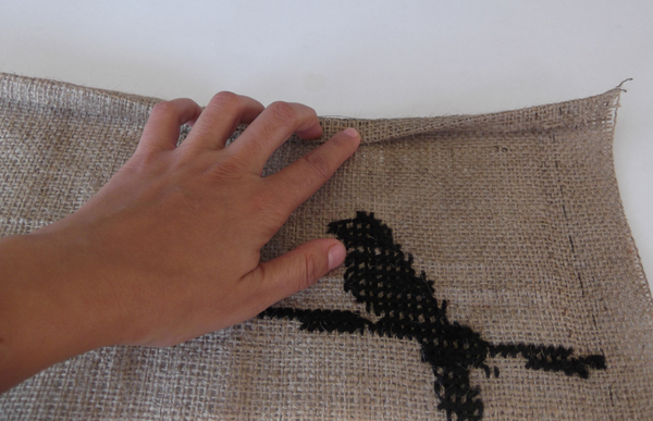 bag tutorials, bag instructions, how to bag, burlap bag