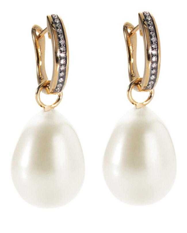 pearl earrings, Annoushka Ducas, Kate Middleton, diamonds,