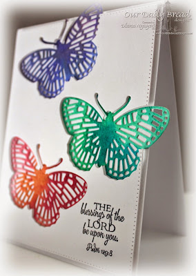 Diana Nguyen, Fancy Fritallary, card, butterfly, Our Daily Bread Designs, Scripture