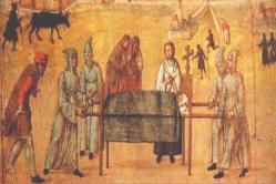 Los muertos eran puestos sobre la mesa de la cocina