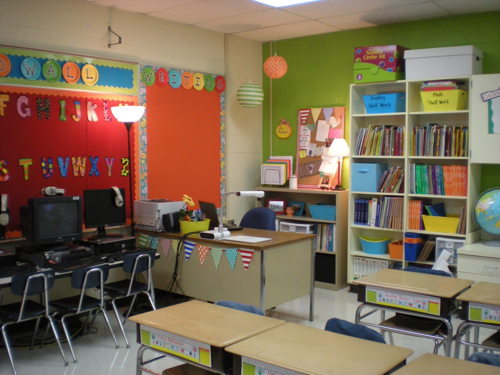Classroom Wall Ideas : The good life july