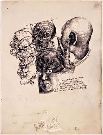 Portrait de Freud par Dali