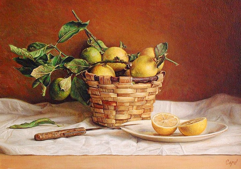 Imágenes Arte Pinturas: Pinturas de bodegones en oleo