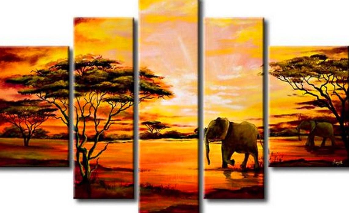 Cuadros pinturas oleos paisajes modernos - Pinturas de pared modernas ...