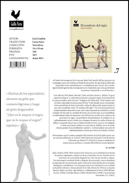 El combate del siglo - Jack London