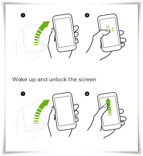 Waking up the phone with Motion Launch