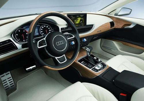 Katha Pollitt Audi A7 Interior