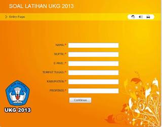 Kumpulan Soal dan Aplikasi Kisi-Kisi UKA UKG Online 2013