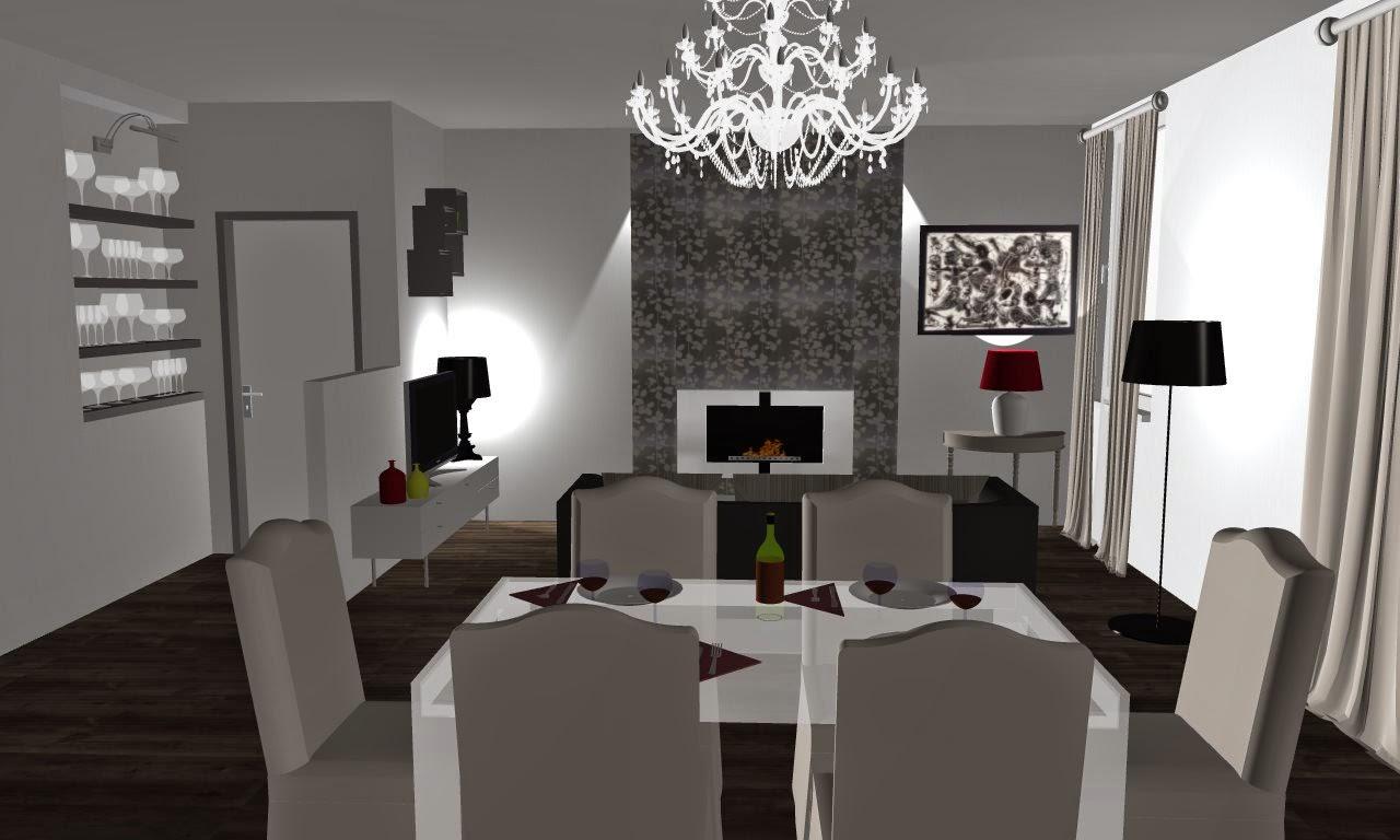 retrÒ and design: puntata 2: progetto interiors zona giorno - Soggiorno Living Progetto 2