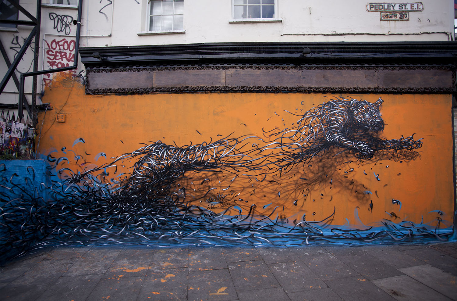 Daleast new mural in london uk streetartnews for Best mural artist