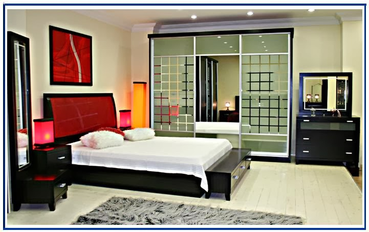 Superbe Placing The Bed Is Just Not Done To Get Perfect Bedroom .. All The Furniture  Setting Is Interrelated To Each Other And Gives A Balanced Visual Effect To  ...