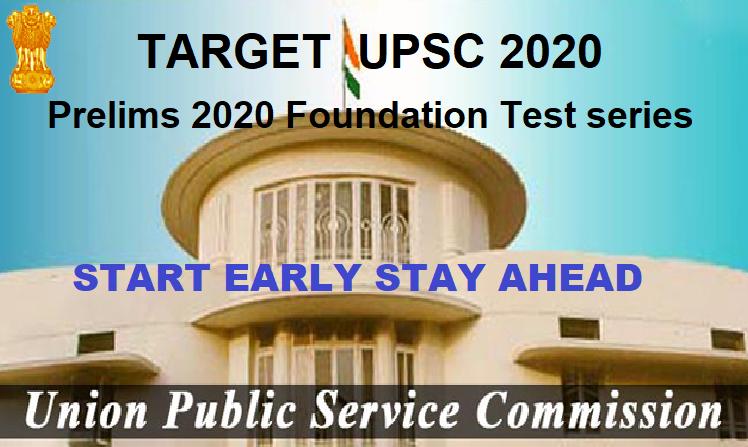 Target UPSC 2020