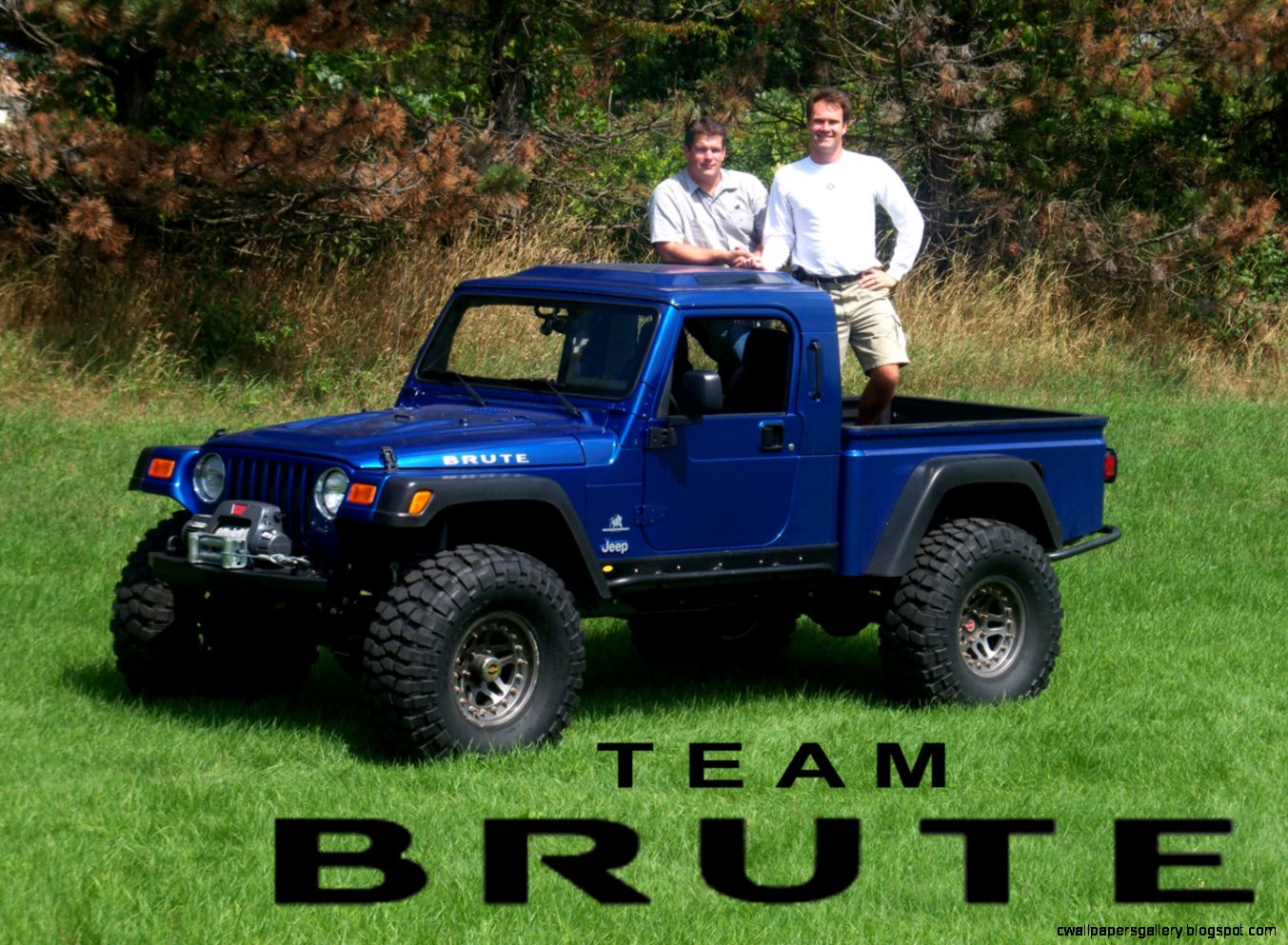 Jeep Brute Truck Conversion