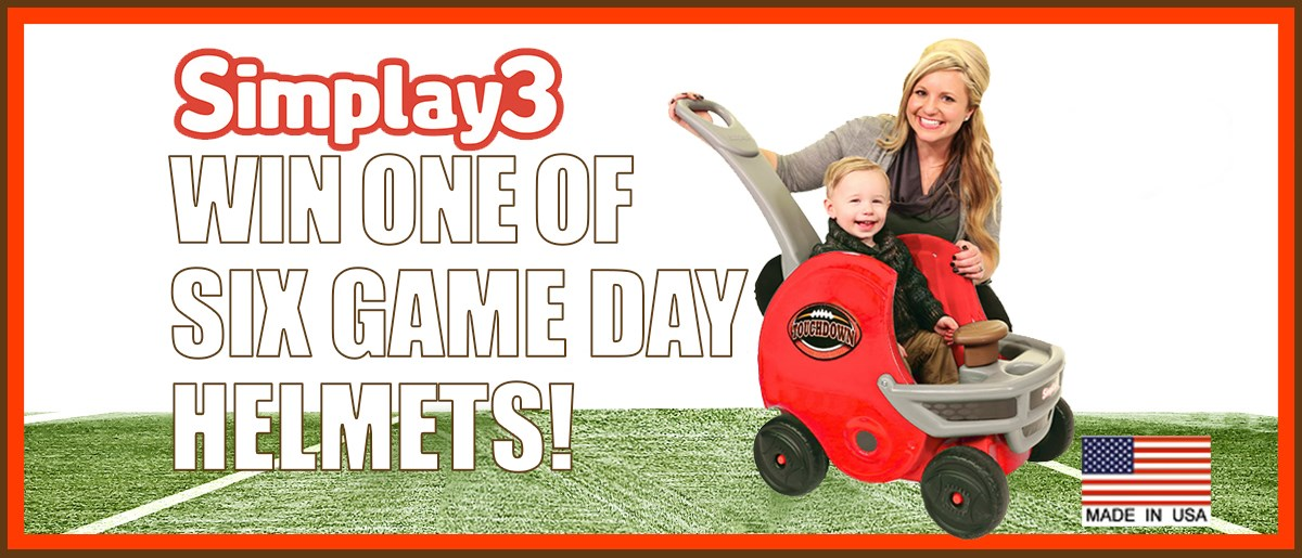 Win 1 of 6 GAME DAY HELMET BUGGIES!!
