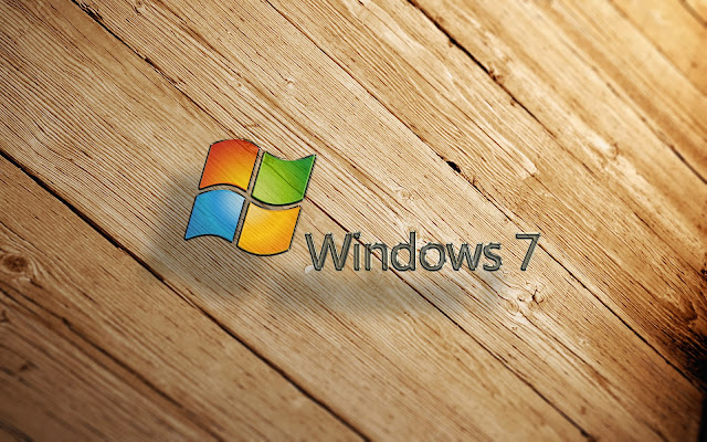 Holz Windows 7 wallpaper