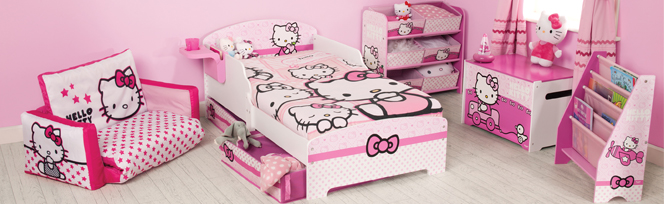 Bricolage e Decoração 10 Quartos de Princesa inspirados na Hello Kitty