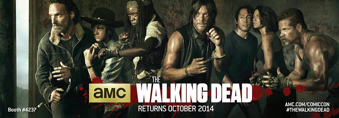 The Walking Dead, il banner del Comic-Con
