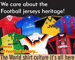 Football shirt culture it's all here...