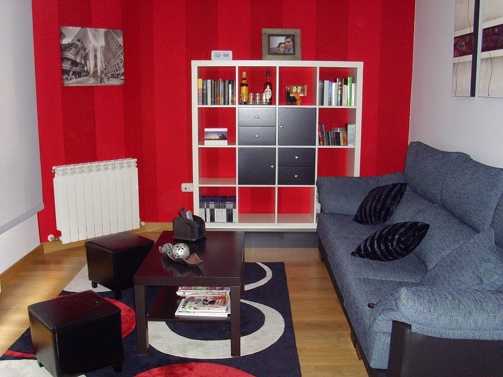 Decoracion de salas rojas parte 3 - Pinturas de decoracion de salones ...