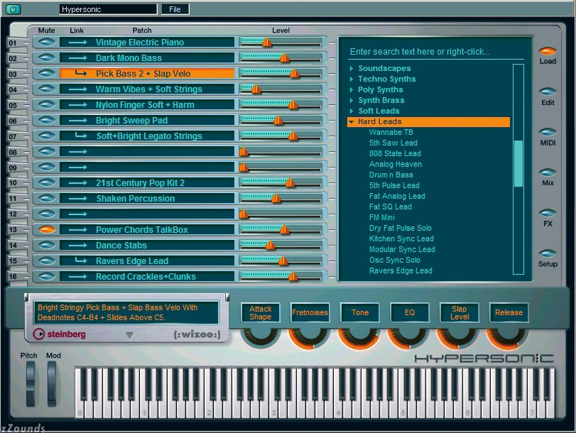 Steinberg Hypersonic Vsti v1.0-h20 FREE DOWNLOAD