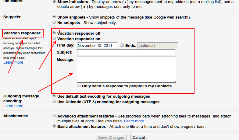 how to stop auto reply in gmail