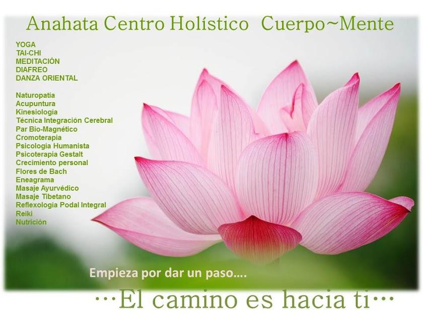 Anahata Centro Holistico Cuerpo-Mente