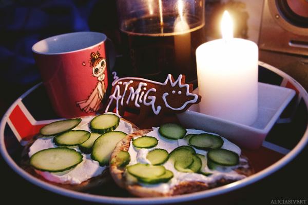 aliciasivert, alicia sivertsson, frukost, jul, pepparkaka, ät mig, mymlan muminmugg