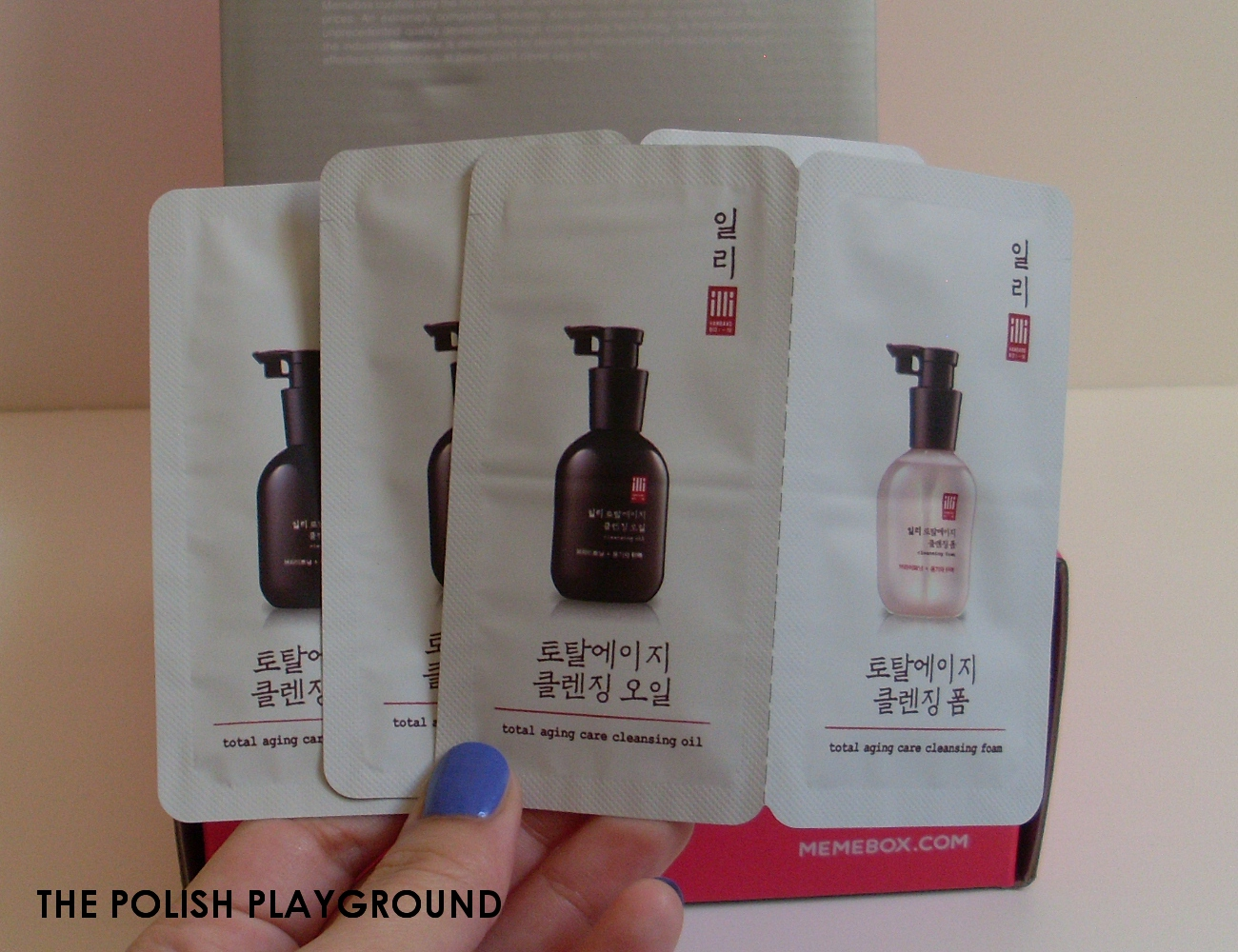 Memebox Minibox #3 Unboxing - illi Cleansing Oil and Foam Set