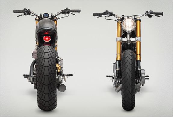 YAMAHA VIRAGO XV920 CUSTOM BY CLASSIFIED MOTO